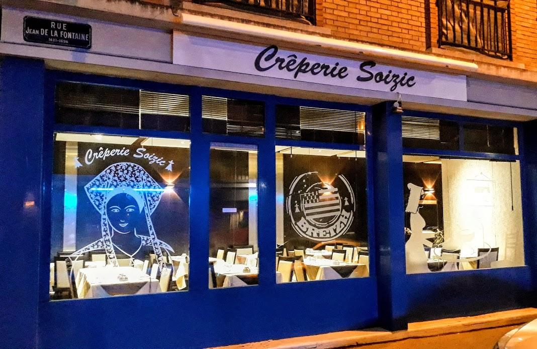 Crèpe complète au restaurant Soizic au Havre